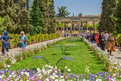 Stock Photo of Tomb of Hafez poet