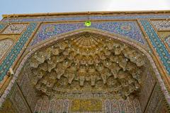 Stock Photo of Shiraz Mosque Cells of heaven