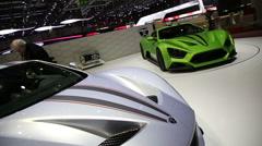 Zenvo car 2 Stock Footage