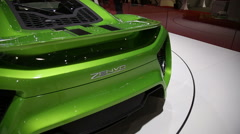 Zenvo car 4 Stock Footage
