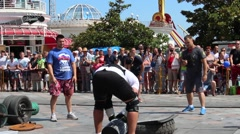 Strongman and Strength Sports. Stock Footage