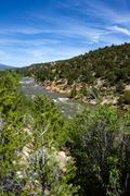 Arkansas River in Colorado Stock Photos