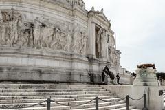 Victor Emmanuel Monument, Rome - stock photo