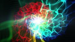 nebula galaxy abstract - stock footage