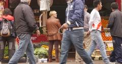 Fruit Shop, Córdoba,Argentina Stock Footage