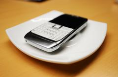 Obsolete smartphone Stock Photos