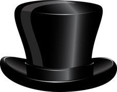 hat cylinder - stock illustration