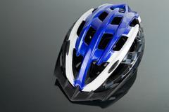 Bicycle helmet - stock photo