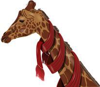 Stock Illustration of giraffe