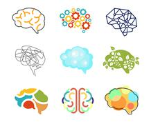 Stock Illustration of Brain Icon