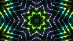 kaleidoscope animation - stock footage