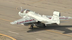 Northrop Grumman EA-6B Prowler at Northern Edge Stock Footage