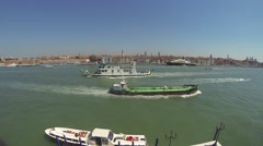 Boats in Venice Stock Footage