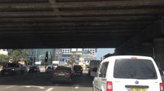 Driving in Herzliya Pituach Industrial Zone Stock Footage