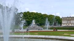 Herrenchiemsee, Chiemsee, Palace, Bavaria, Germany Stock Footage