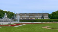 Herrenchiemsee, Chiemsee, Palace, Bavaria, Germany Stock Footage