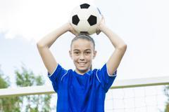 Teen Youth Soccer Stock Photos