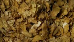 Mixed Nut Granola Cereal Dropping Slow Motion - stock footage