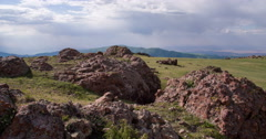 View from the Foothills of the Valley 4K - stock footage