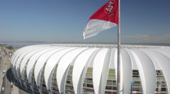 Beira Rio - Sport Club Internacional Stock Footage