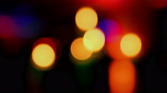 Camera Bokeh - Candle Light 4k - stock footage