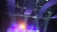 Background concert lights - stock footage