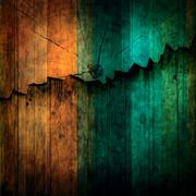 abstract of wood breaking wall background use for multipurpose backdrop and c - stock photo