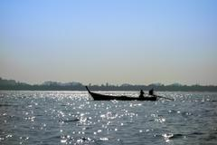 Fisherman. - stock photo