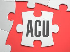 ACU - Puzzle on the Place of Missing Pieces Stock Illustration