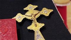 Orthodox cross Stock Footage