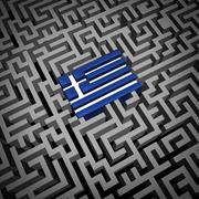Stock Illustration of Greece Crisis