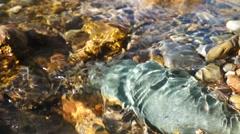 Crystal clear creek - stock footage