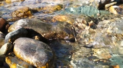 Crystal clear creek - stock footage