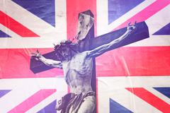 Religious Concept, Christianity in United Kingdom - stock photo