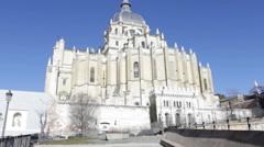 Catedral de Almudena - stock footage