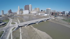 Columbus Riverfront Stock Footage