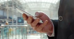 Businesspeople always keep in touch Stock Footage