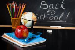 Back to school ! Stock Photos