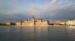 The Hungarian Parliament Building Stock Footage
