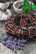 Stock Photo of herbal medicine