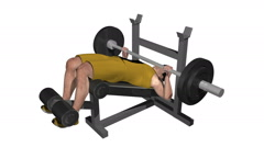 Male working out on leg extension machine. Loopable with Alpha Channel Stock Footage