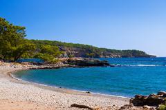 Stock Photo of Beach at Phaselis in Antalya, Turkey