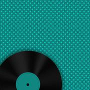 Abstract Music Background Vector Illustration for Your Design - stock illustration