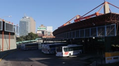 Old bus terminal of Cordoba, Argentina Stock Footage