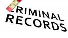 Erase Criminal Records Stock Footage