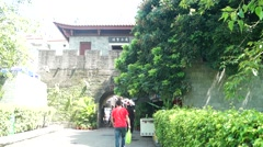 Nantou Shenzhen ancient city landscape, in China Stock Footage