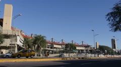 Old bus terminal of Cordoba Stock Footage