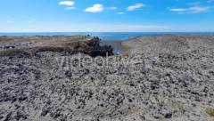 Deep Lagoons and Lava Wonderland - stock footage