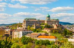 Stock Photo of Buda Castle in Budapest