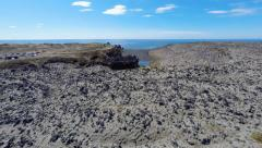 Deep Lagoons and Lava Wonderland Stock Footage